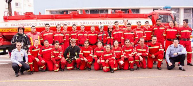 Uniformes Junghaus Vestem Bombeiros Voluntários de São Sebastião do Caí